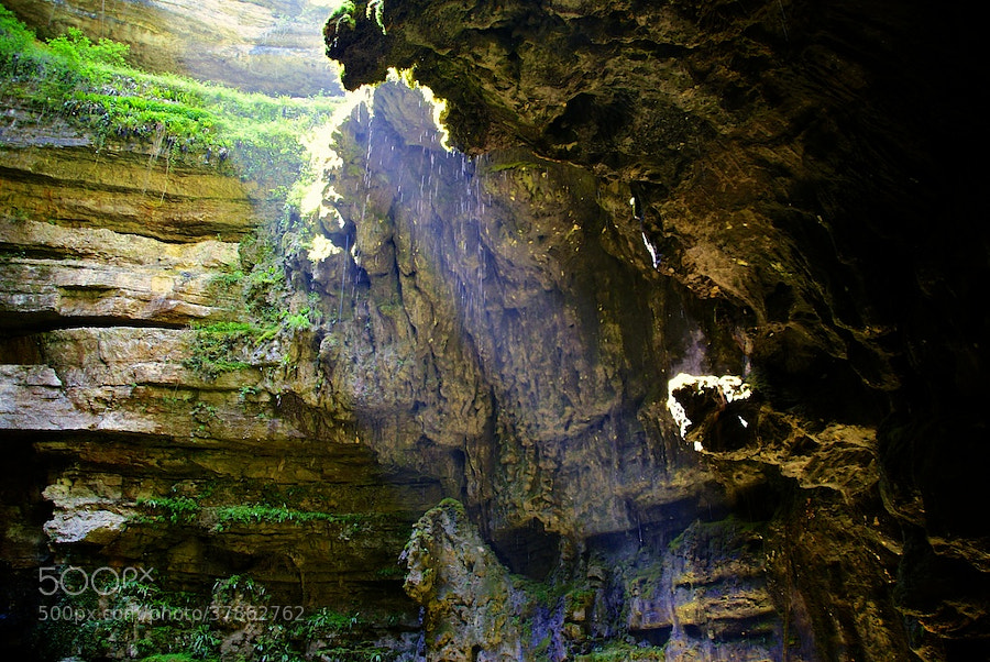 Gouffre de Padirac 01 by wenmusic * (wenmusic)) on 500px.com