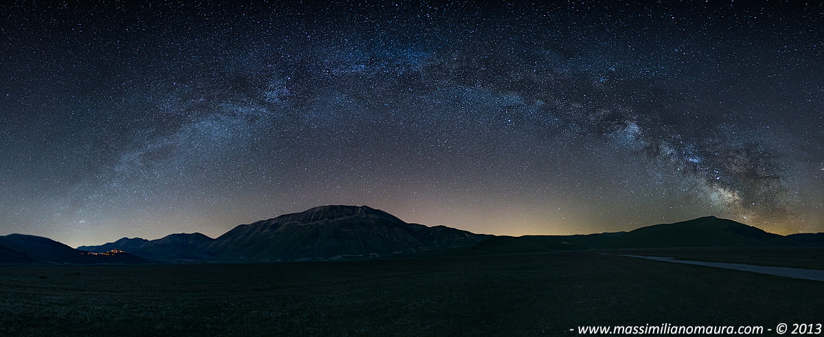 Photograph Under The Milky Way by Massimiliano Maura on 500px