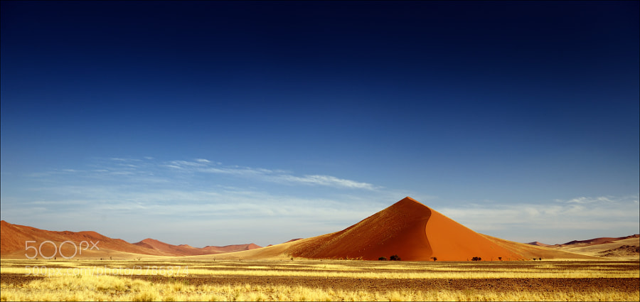 The dunes of Sossusvlei, Namibia.