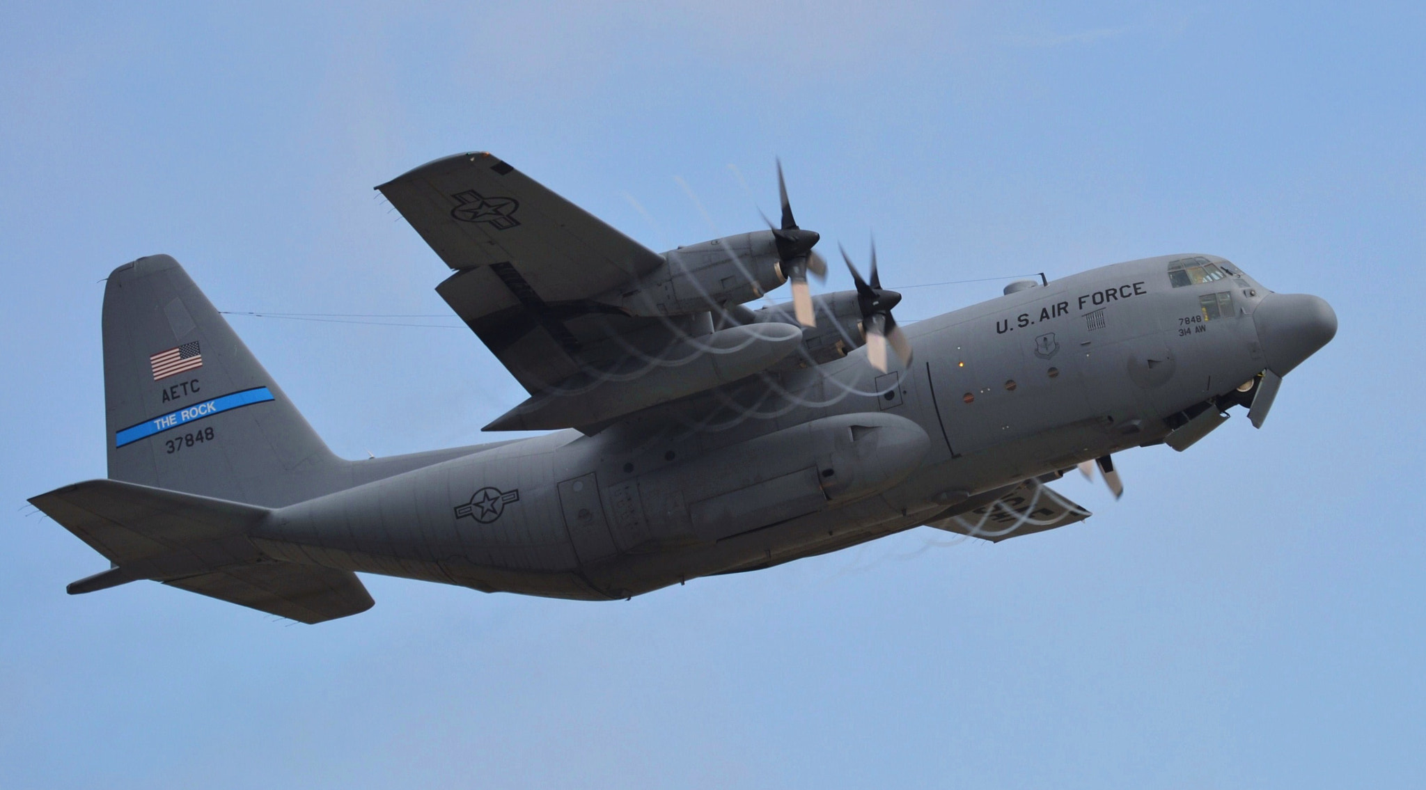 Photograph C-130 With Tip Trails by Michael Fitzsimmons on 500px