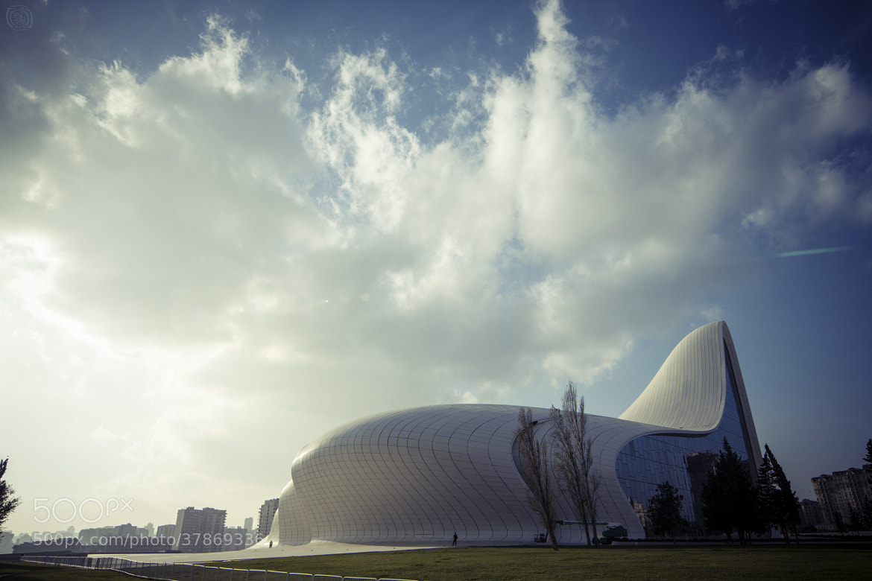 Heydar Aliyev Cultural Center Baku Azerbaiyán Azerbaijan