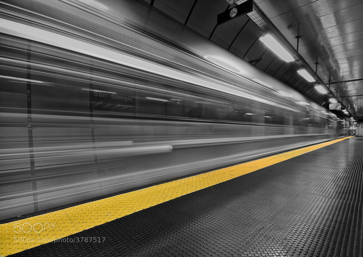 Photograph yello line by Gerard 74 on 500px
