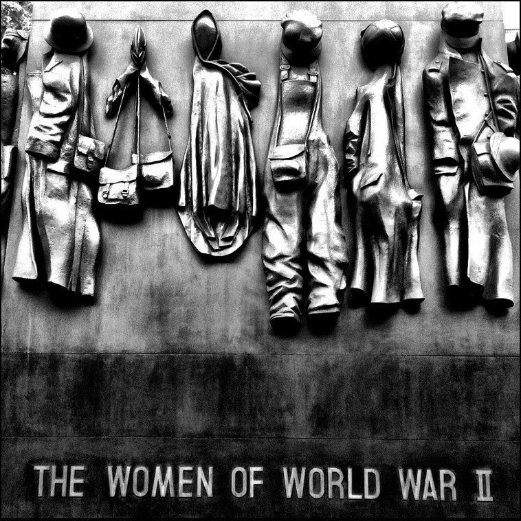 Photograph The women of WW2 Memorial by  Gordon  on 500px