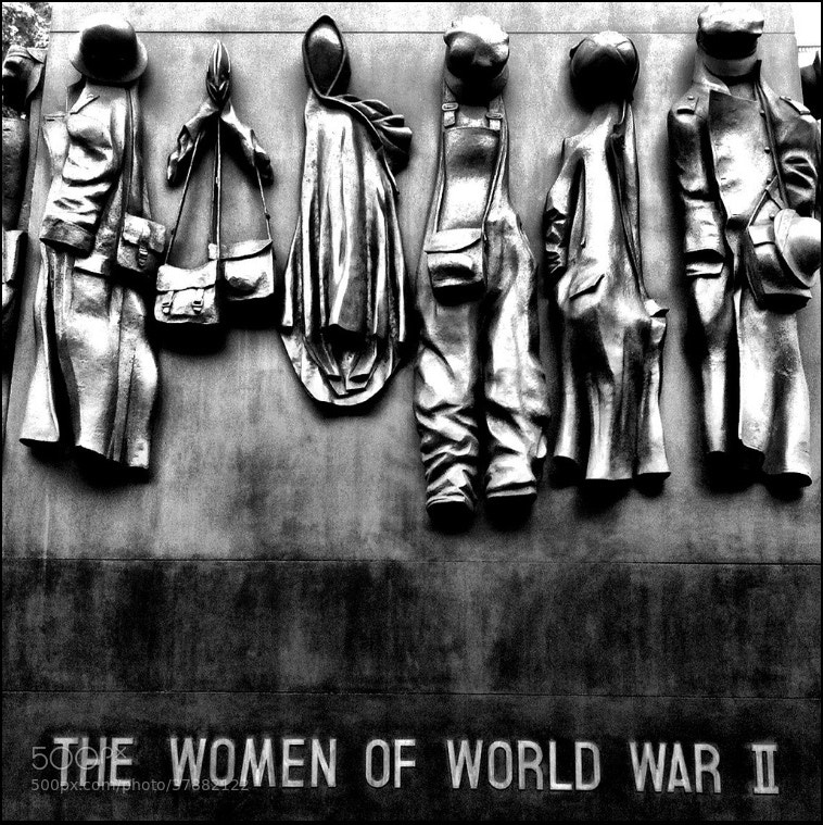 Photograph The women of WW2 Memorial by GavinGordon on 500px
