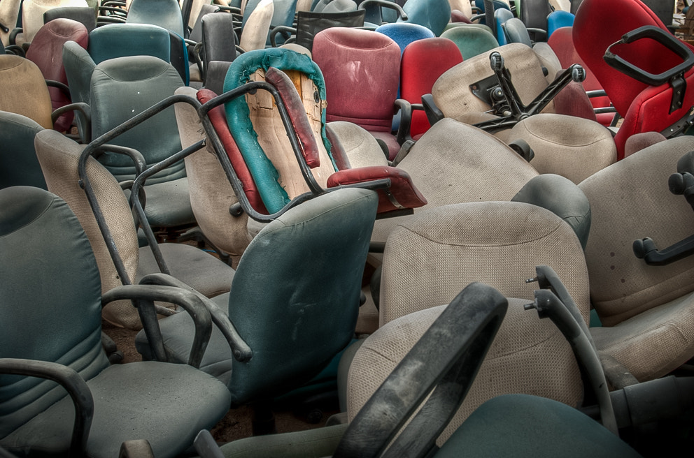 Photograph graveyard of chairs by swarat ghosh on 500px