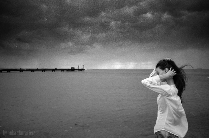 Photograph 30 seconds before the storm by anka_zhuravleva_bw on 500px