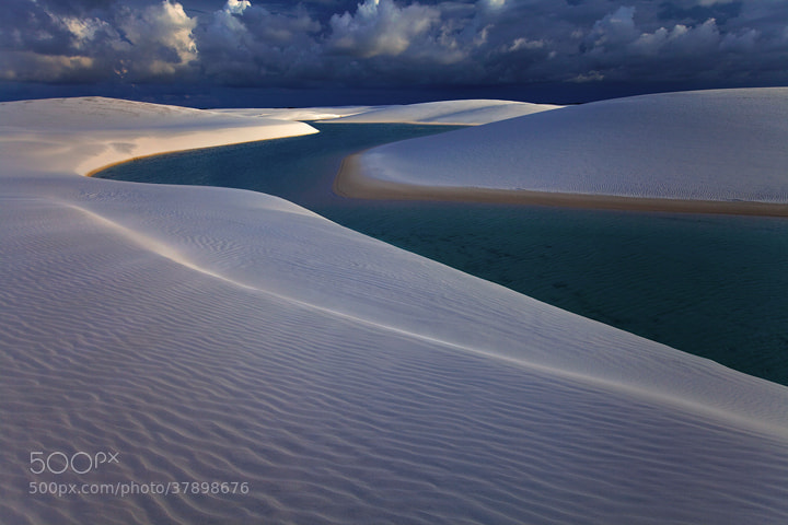 Photograph Metallic Dunes by Michael Anderson on 500px