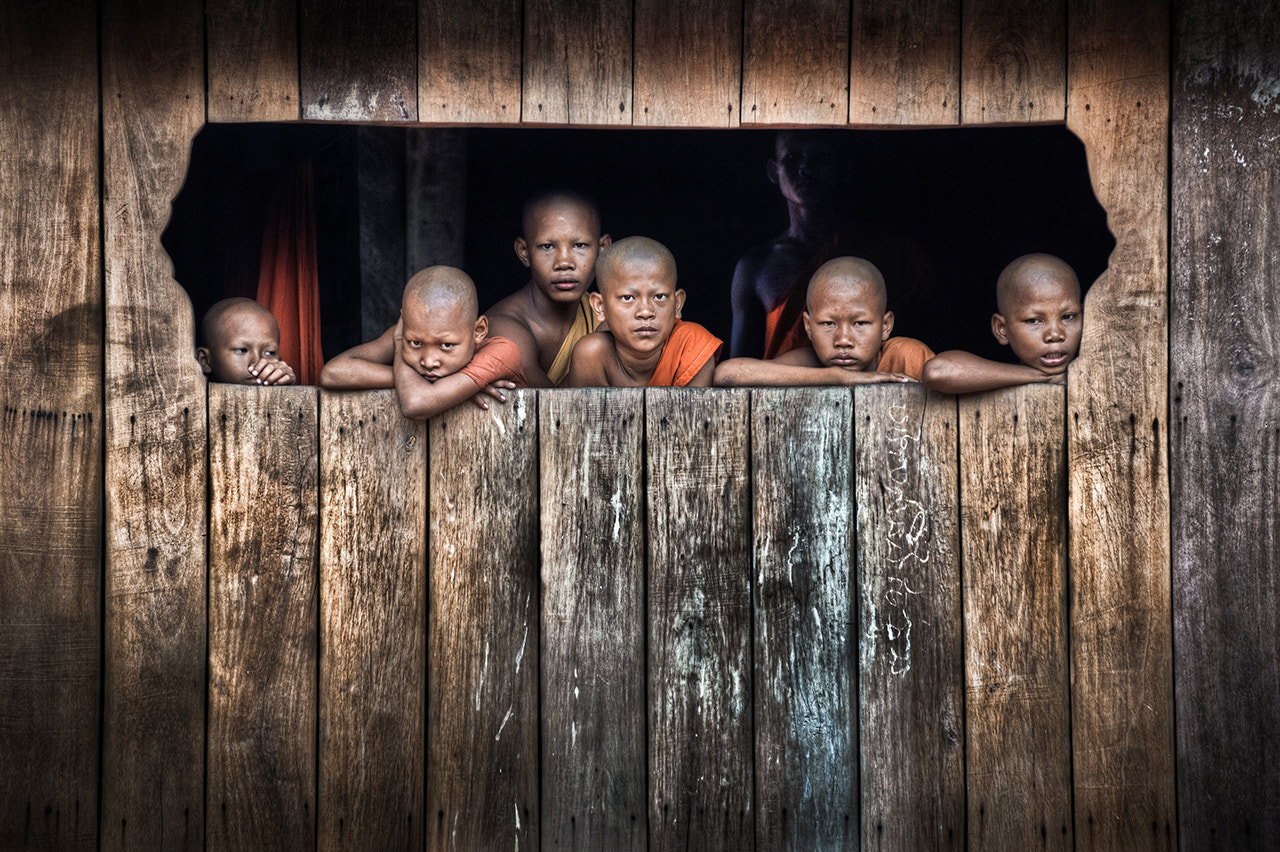 Photograph Novice Monks by Alessandro Vannucci on 500px