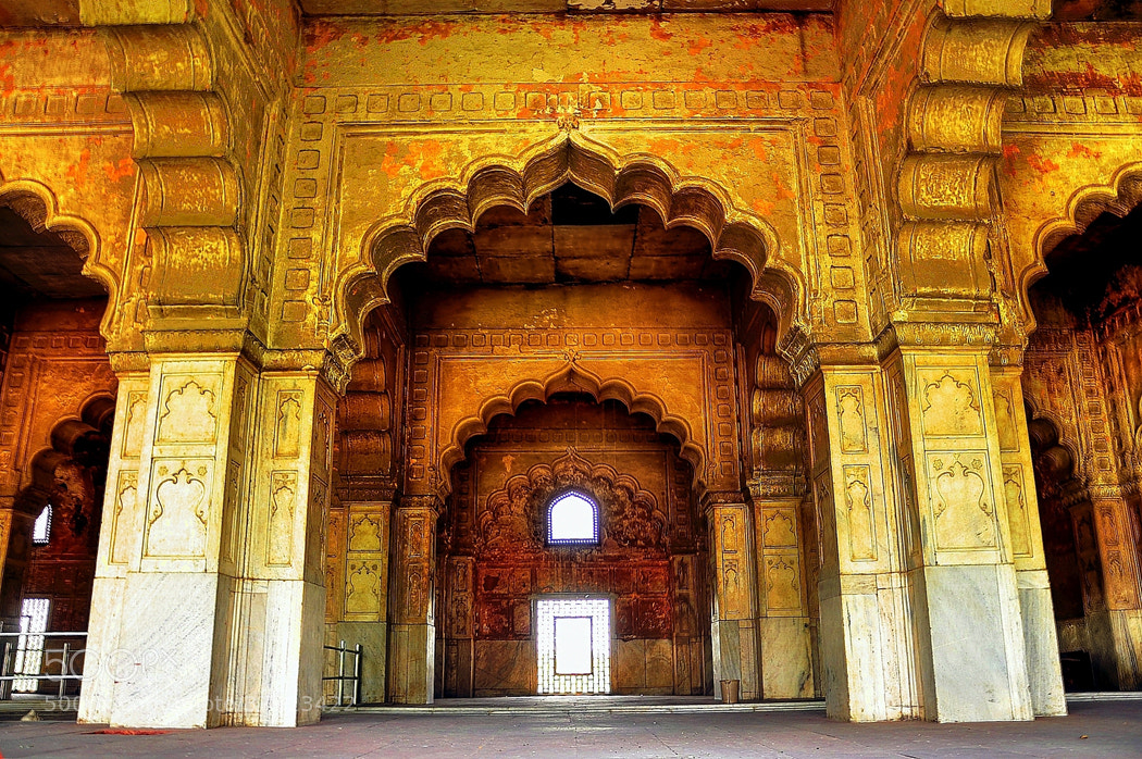 Photograph Mughal Arches:Red Fort,Delhi. by Mosaddeque Rahman on 500px
