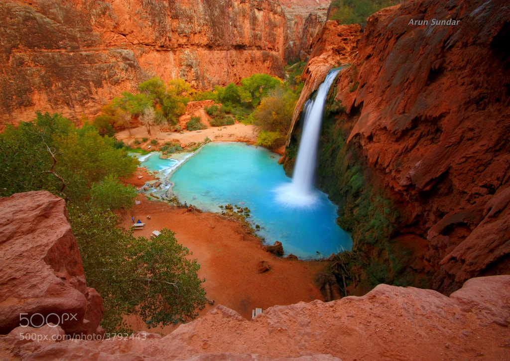 Photograph Havasu falls by Arun Sundar on 500px