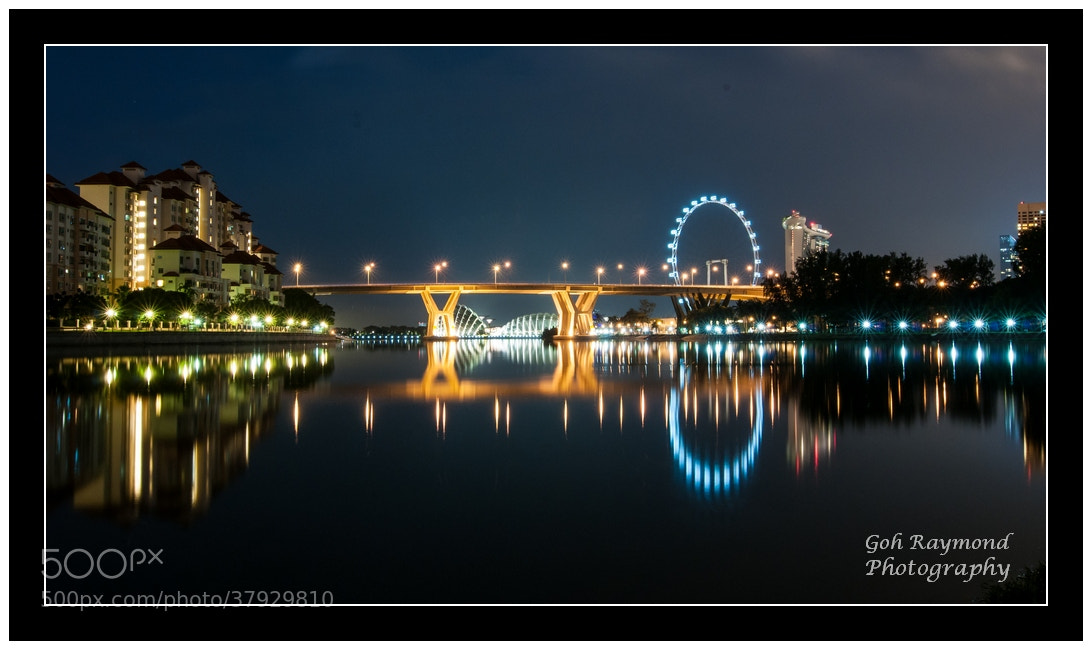 Photograph Reflection Light @ Kallang River by GohRaymond Photography on 500px