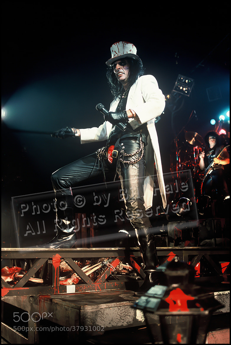 Photograph Alice Cooper  by Bill Hale on 500px