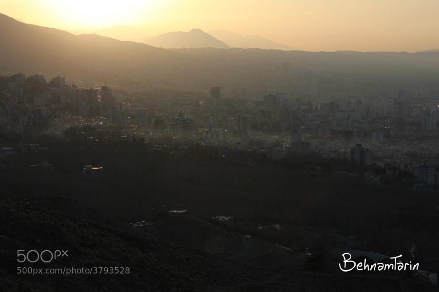 tehran`s sun by behnam tarin (behnamtarin) on 500px.com