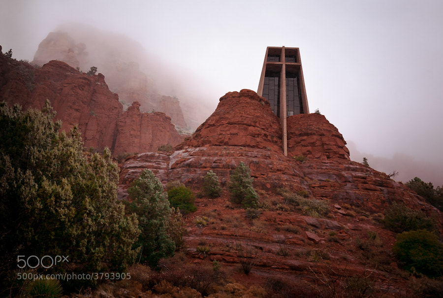 Photograph Sedona Chapel by Pat Kofahl on 500px