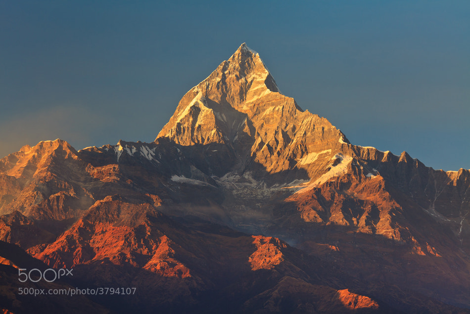 Photograph Annapurna Sunset by Helminadia Ranford on 500px
