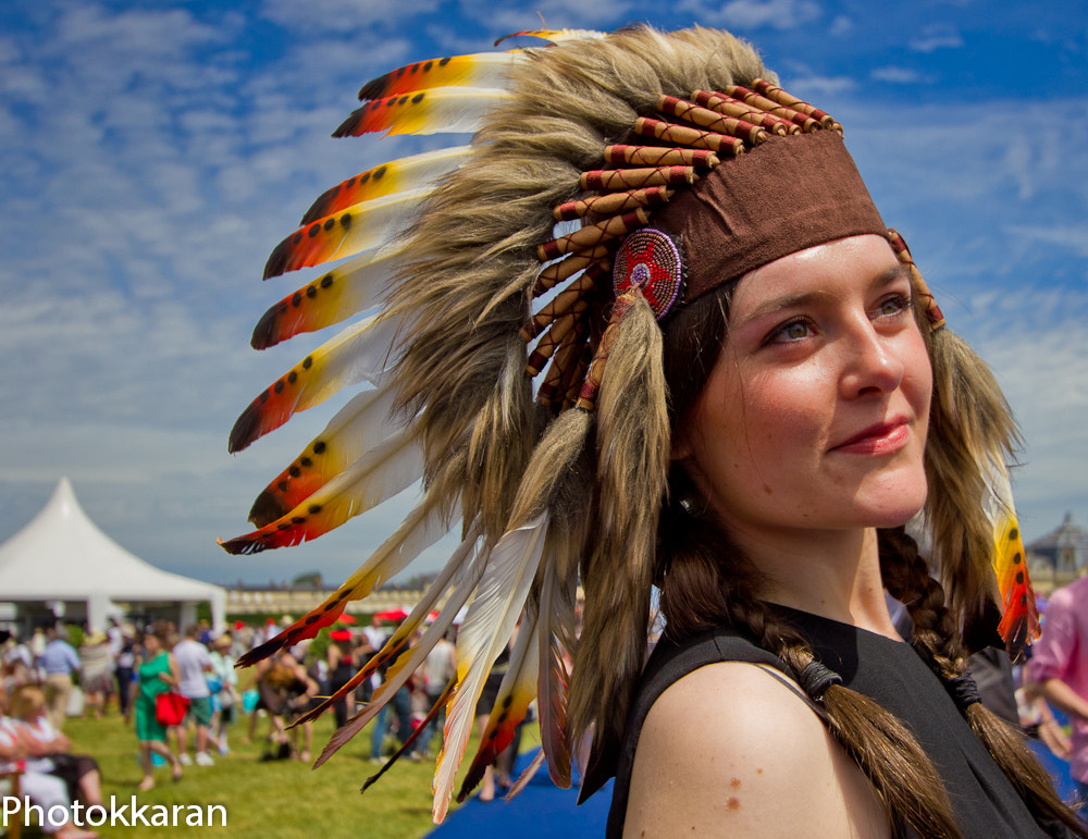 Photograph A red Indian in France by Photokkaran PK on 500px