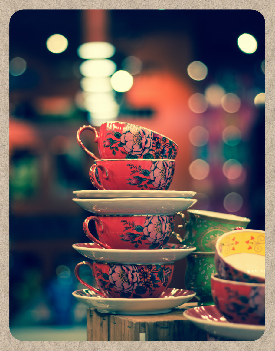 Photograph Tea cups by Bianca K on 500px