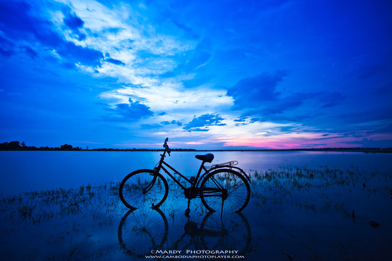 Photograph Lonely bike! by Mardy Suong Photography on 500px