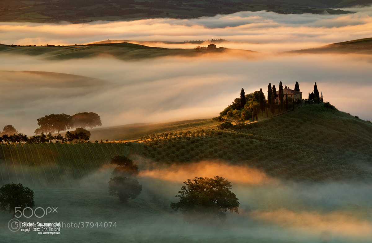 Photograph Toscana by Suchet Suwanmongkol on 500px