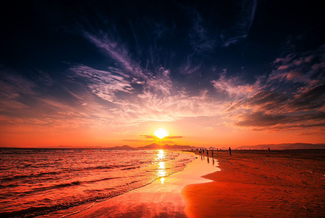 Photograph Sunset and clouds by LEE GEON on 500px