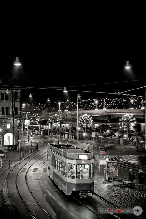 Photograph The last tram by Jose Meis Meaño on 500px