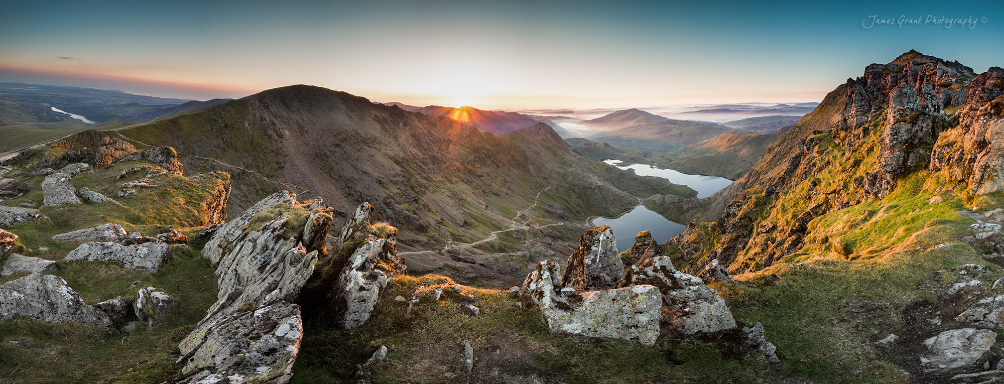 Photograph Snowdon Horseshoe by James Grant on 500px