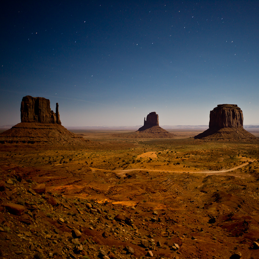 Photograph Monument Valley at Night by Afonso Salcedo on 500px