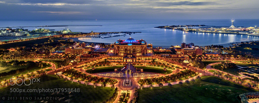 Photograph EMIRATES PALACE HOTEL - THE CROWN OF ABU DHABI by Beno Saradzic on 500px