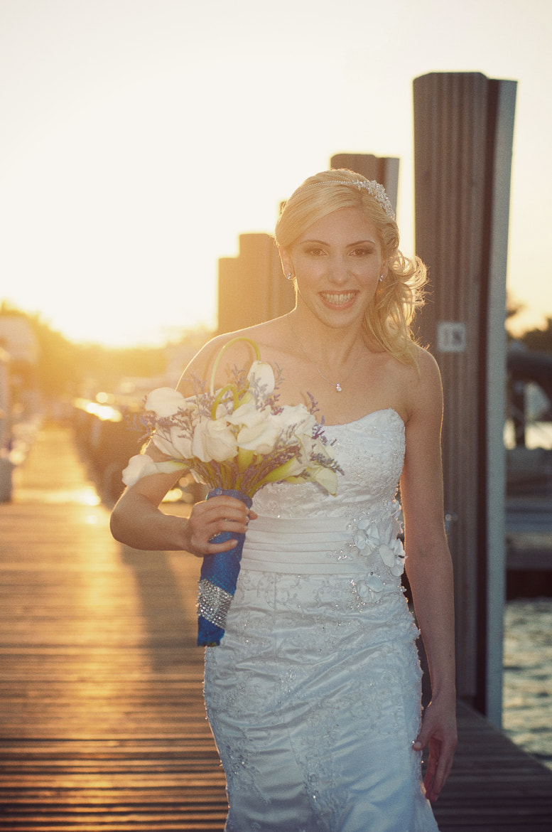 Photograph bride on the dock by Jan Freire on 500px