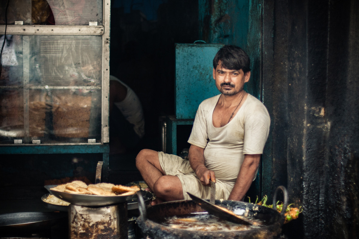 Photograph Samosa's maker by Philippe CAP on 500px