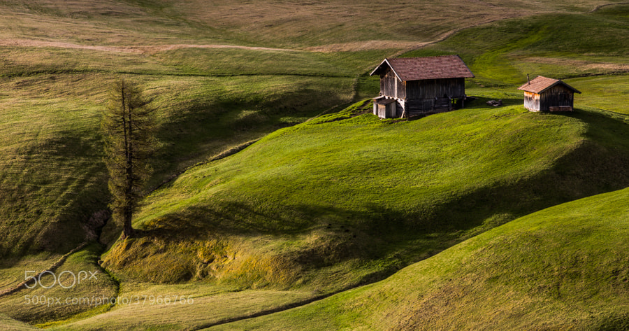 Photograph Simplicity in the Dolomites by Hans Kruse on 500px