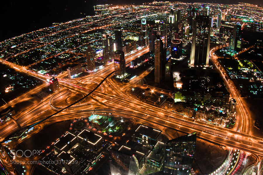 Photograph Dubai from the top by Momen Khaiti on 500px