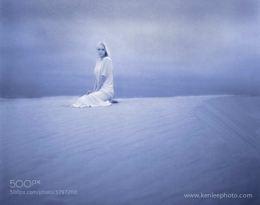 Photograph Monica on Dunes by Ken Lee on 500px
