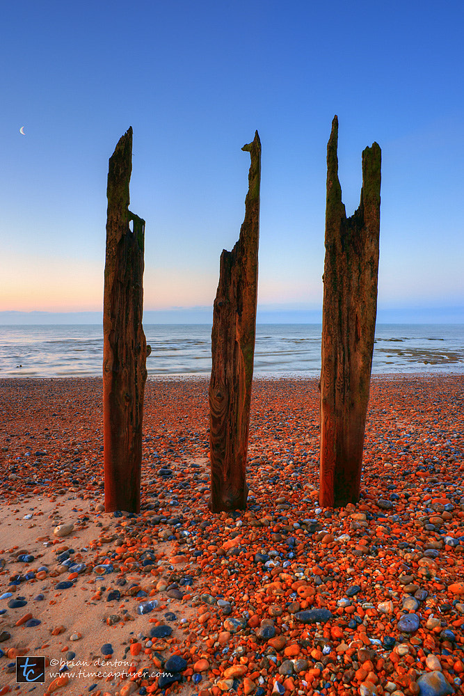 Photograph Pebbles & Posts by Brian Denton on 500px