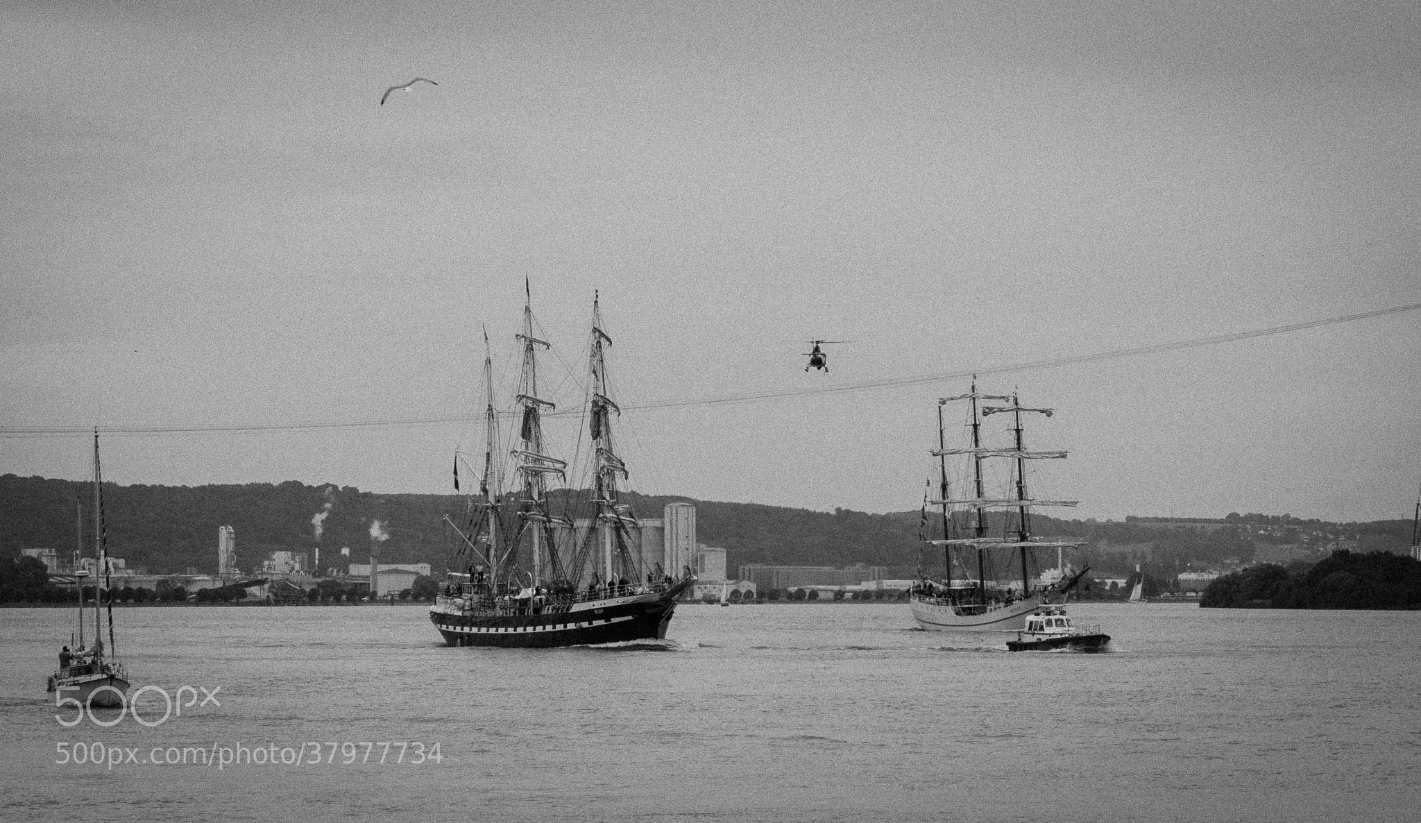 Photograph The Belem Since 1896 (Armada 2013) by Nabil BACHIR-CHERIF on 500px