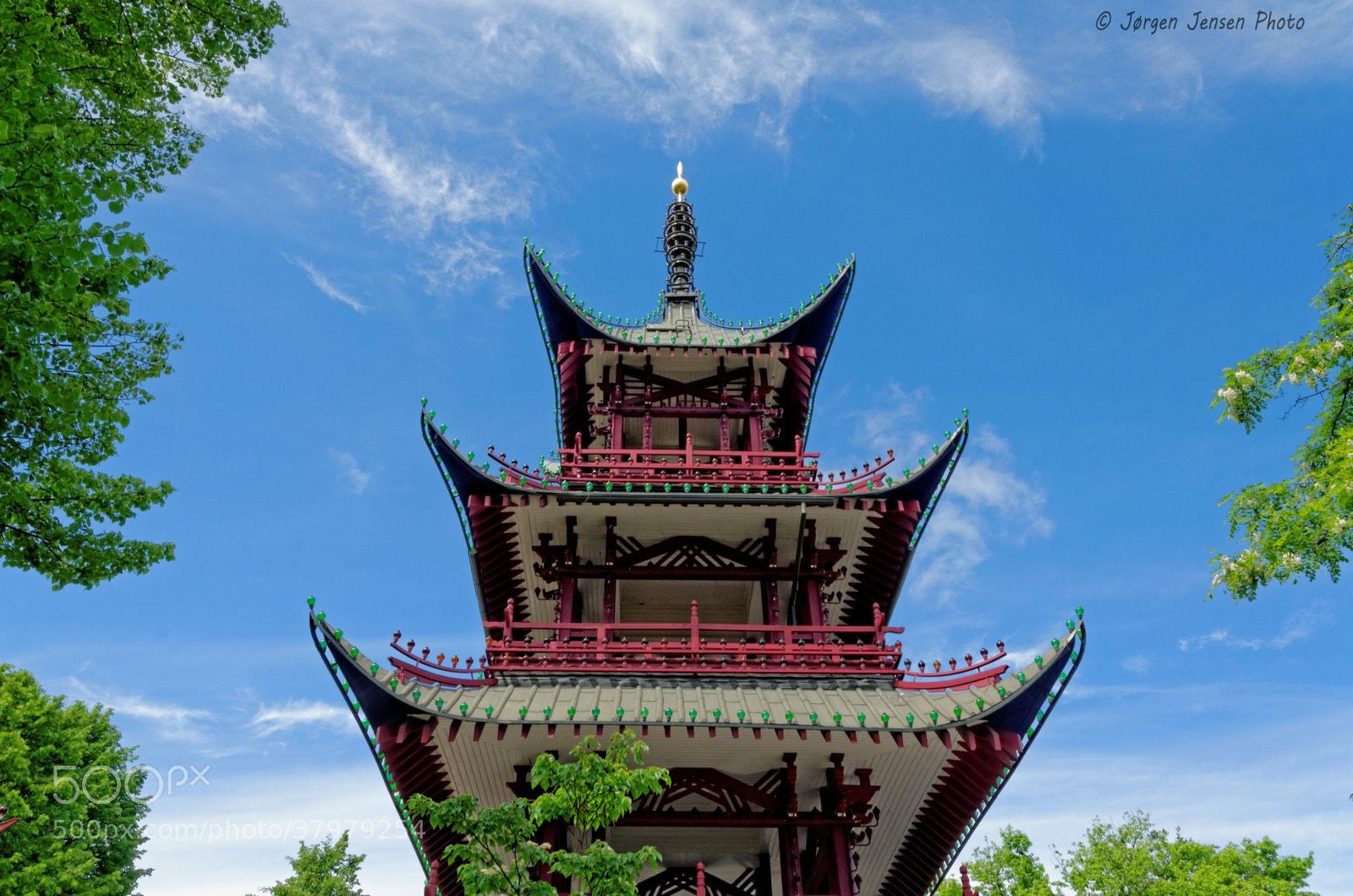 Photograph The Chinese Tower - Tivoli Copenhagen by Jørgen Jensen on 500px