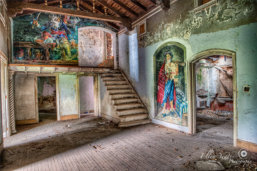 Photograph Abandoned Stewart Mansion  by Ellen Yeates on 500px