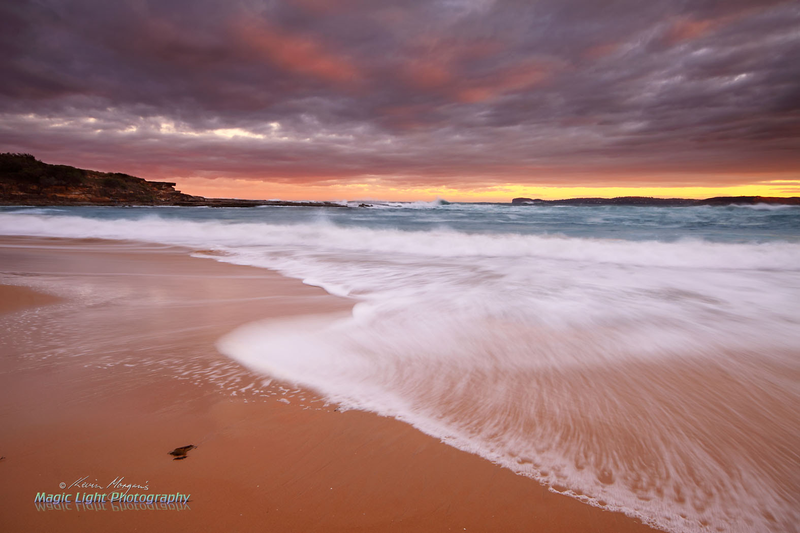 Photograph Putty Beach Sunset by Kevin Morgan on 500px