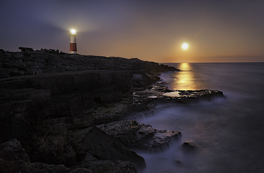 Photograph Portland Bill by Moonlight by Daniel Hannabuss on 500px