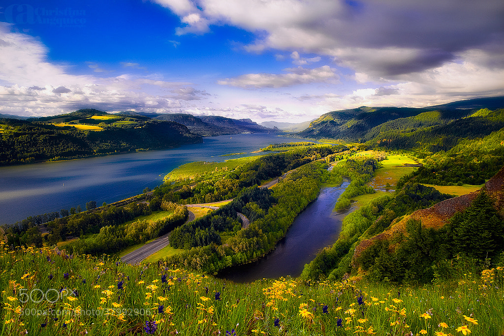 Photograph Columbia River Gorge by Christina Angquico on 500px