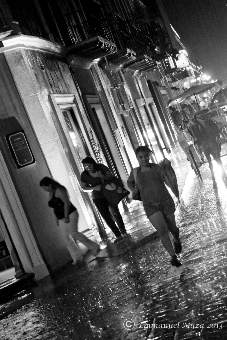 Photograph Running in the rain by Emmanuel  Maza on 500px