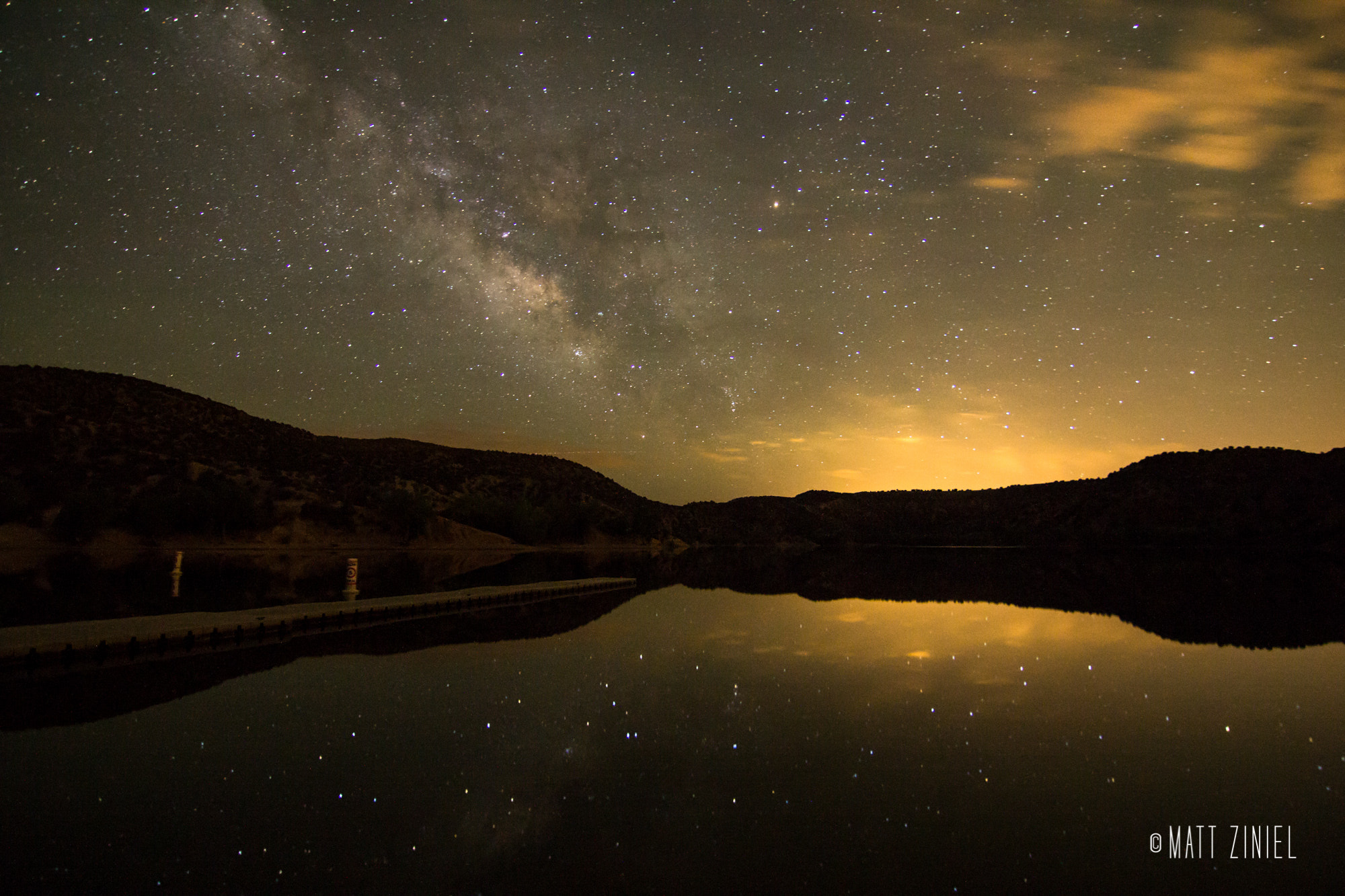 Photograph Reflections of the Night Sky by Matt Ziniel on 500px