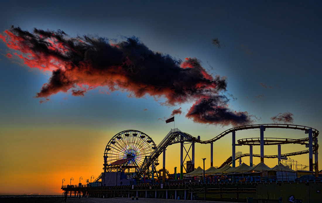 Photograph Santa Monica Pier by Peter Dang on 500px