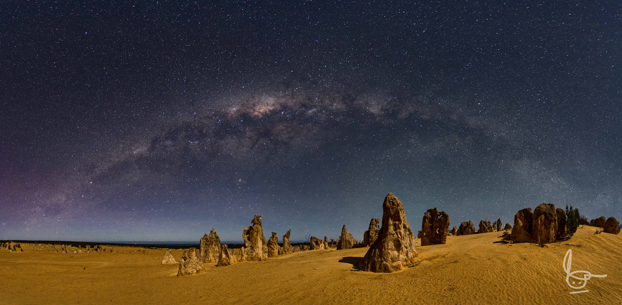 Photograph Milky Way at the Pinnacles by Michael Goh on 500px