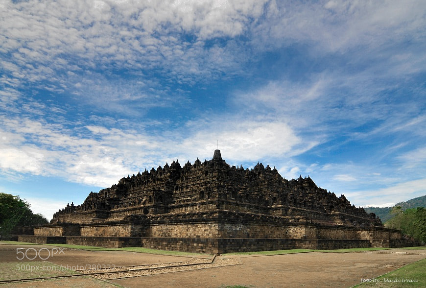 Photograph Borobudur by Maidi Irvan on 500px
