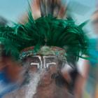 partecipante de una regata historica en la riviera maya