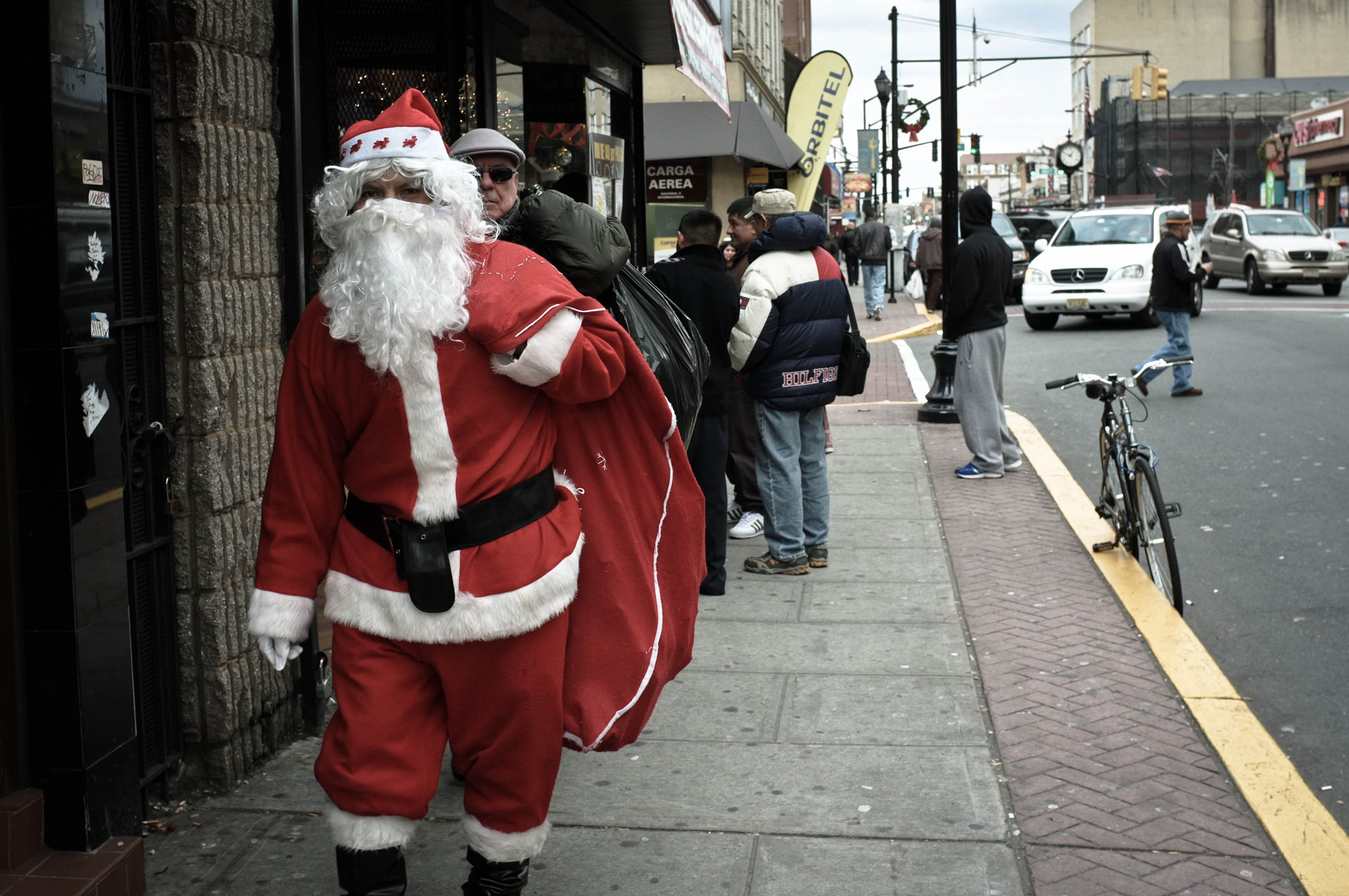 """Photograph """"Santa Makes His Rounds On Bergenline"""" by B.C.  Lorio on 500px"""