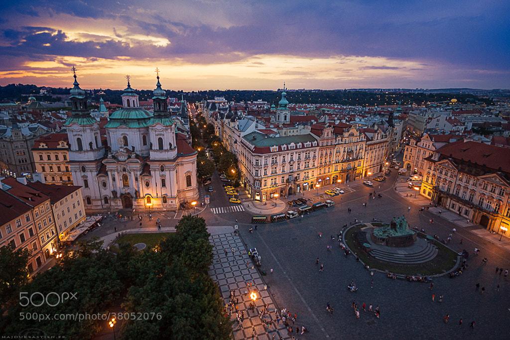 Photograph Place de la vieille ville, Prague by Bastien HAJDUK on 500px