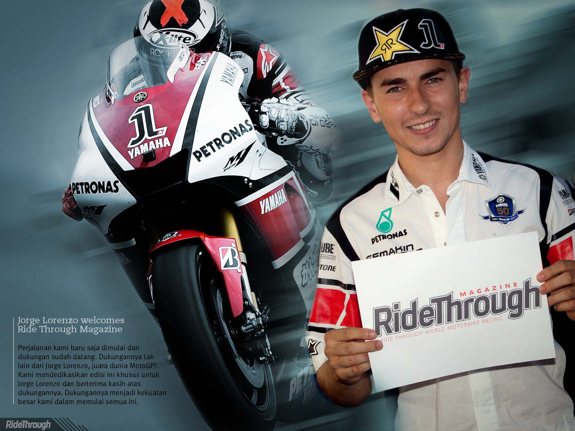 Photograph Jorge Lorenzo is a RTM's supporter by Ride Through Mag on 500px