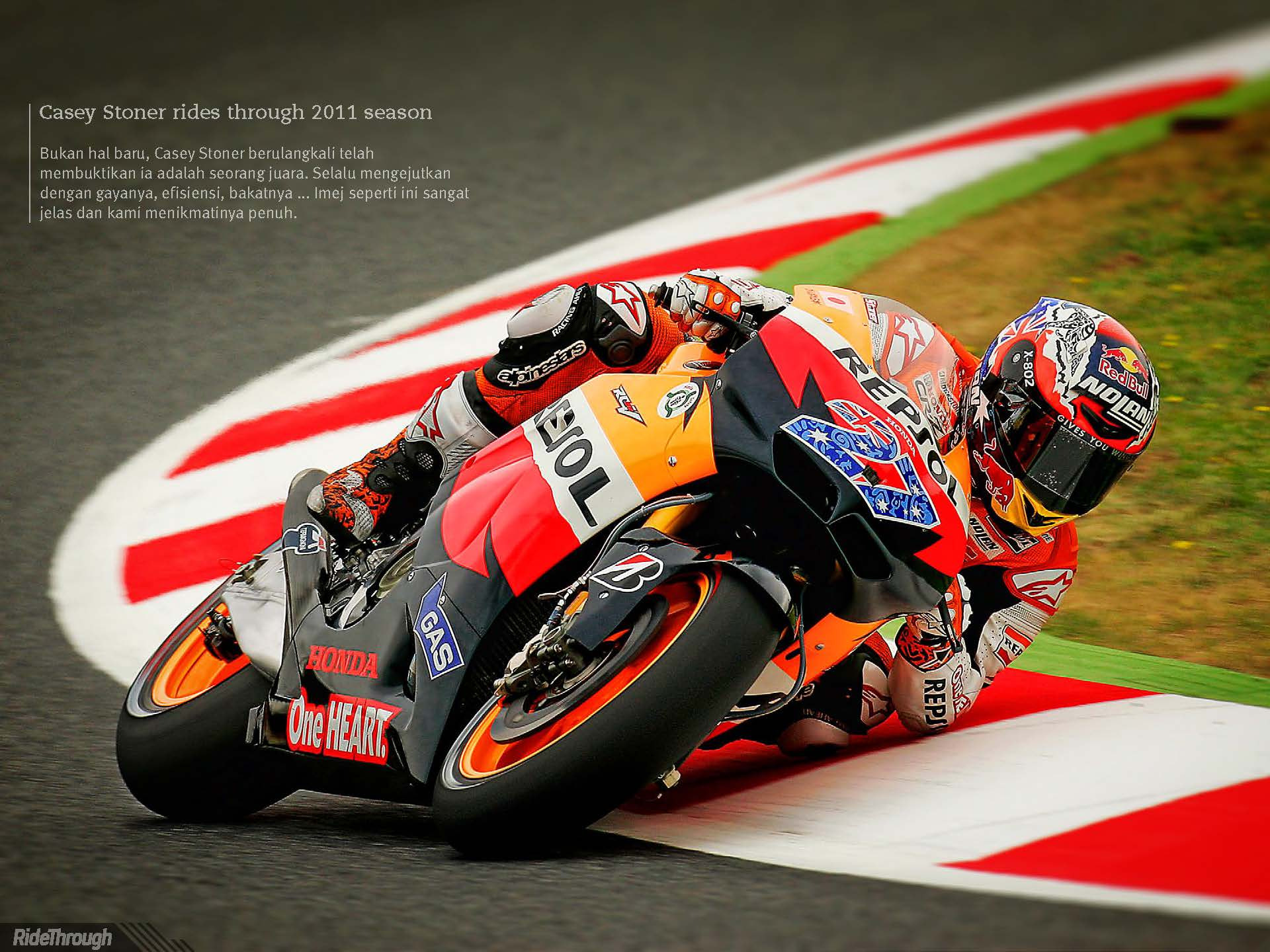 Photograph Casey Stoner by Ride Through Mag on 500px